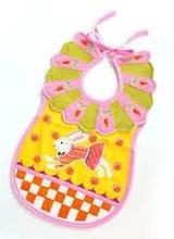 Mackenzie-Childs Toddler's Bib - Bunny