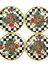 Mackenzie-Childs Berries & Blossoms Salad Plates - Set of 4