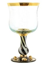 Mackenzie-Childs Tango Water Glass