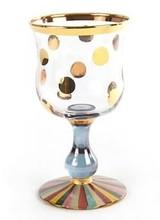 Mackenzie-Childs Foxtrot Water Glass