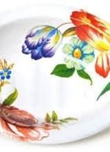 Mackenzie-Childs Flower Market White Soap Dish