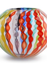 Dynasty Gallery Canework Bowl - Rainbow