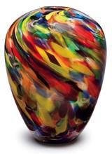Dynasty Gallery Painter's Palette Vase