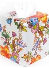 Mackenzie-Childs Flower Market Tissue Box cover