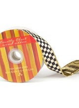 Mackenzie-Childs Courtly Check Ribbon 10 yards
