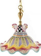 Mackenzie-Childs Fluted Hanging Lamp