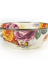 Mackenzie-Childs Flower Market Everyday Bowl - White