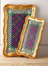 Mackenzie-Childs Highland Large Tray