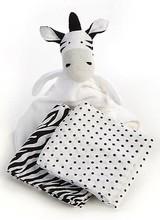 Mackenzie-Childs Zebra Blanket Set