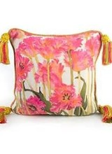 Mackenzie-Childs Parrot Tulip Pillow