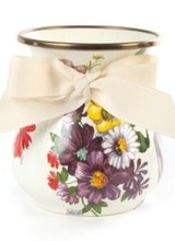 Mackenzie-Childs Flower Market White Vase