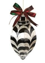 Mackenzie-Childs Capiz Ornament - Jumbo Drop