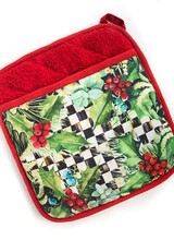 Mackenzie-Childs Holly & Berry Pot Holder
