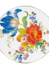 Mackenzie-Childs Flower Market White Platter