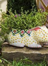 Mackenzie-Childs Bunny Planter