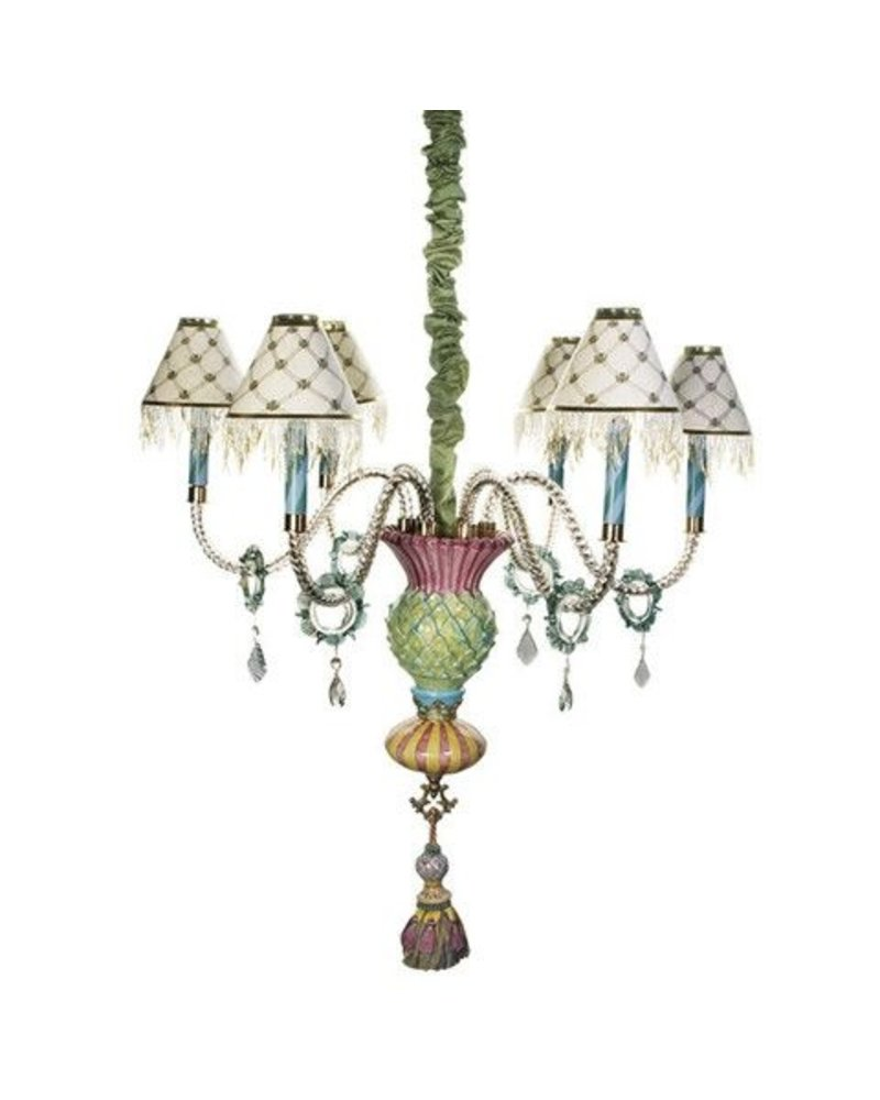 Mackenzie childs thistle chandelier lg gallery mackenzie childs thistle chandelier arubaitofo Image collections