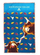 Mackenzie-Childs Divine Bovine Tea Towel