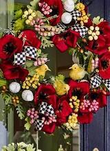Mackenzie-Childs Poppy Wreath