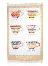 Mackenzie-Childs One Lump or Two Tea Towel