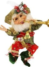 Mark Roberts 11 Pipers Piping Elf