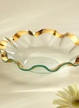 Annie Glass Ruffle Soup Bowl