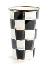 Mackenzie-Childs Courtly Check Tumbler - 10 oz