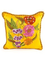 Mackenzie-Childs Garden Show Pillow - Marigold