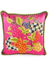 Mackenzie-Childs Garden Show Pillow - Fushia