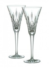 Waterford Waterford<br /> Classic Lismore Toasting Flute, Pair