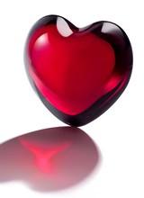 Baccarat CŒUR CUPID HEART Clear crystal heart by Thomas Bastide