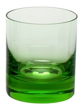 WHISKEY DOF GLASS OCEAN GREEN