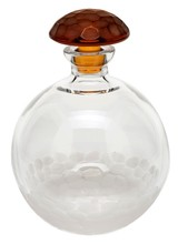PEBBLES DECANTER CLEAR & TOPAZ