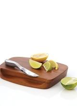 Nambe Blend Bar Board w/ Knife