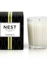 Nest Fragrances Pink pomelo grapefruit and watery green nuances are blended with lily of the valley and coriander blossom.