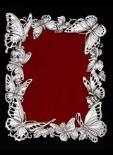 Arthur Court Designs Butterfly Frame 4x6