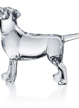 Baccarat Chien Labrador Dog Clear