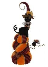"""Mark Roberts Pretty Cat on Pumpkin 29"""""""