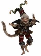 "Mark Roberts Flying Halloween Monkey Small 11"""