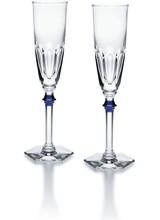 Baccarat Harcourt Eve Flutes Blue