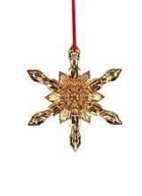 Baccarat 2017 Snowflake Ornament