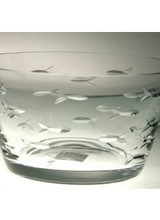 Rolf Glass Clear Small Bowl 6""
