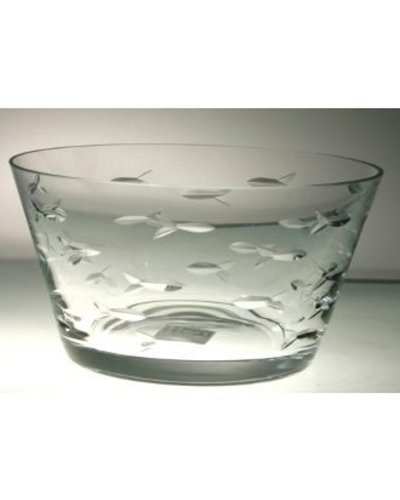 """Rolf Glass Clear Small Bowl 6"""""""