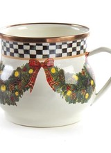 Mackenzie-Childs Evergreen Enamel Mug