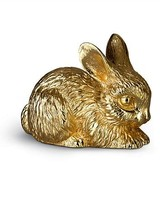 Jay Strongwater Claire Bunny Figurine - Gold