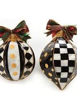 Mackenzie-Childs Park Avenue Ornaments