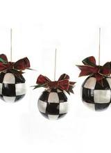 Mackenzie-Childs Small Jester Fancy Ornaments