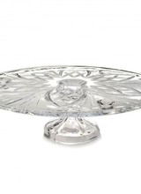 Waterford Marquis by Waterford<br /> Newbury 13in Footed Cake Plate