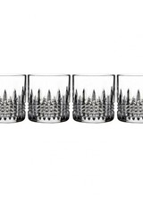 Waterford Lismore Diamond 7oz Straight Sided Tumbler, Set of 4