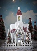 Bethany Lowe Designs Vintage Putz Xmas Church