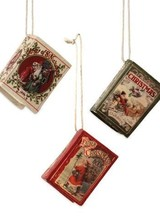 Bethany Lowe Designs Traditional Christmas Book Ornament